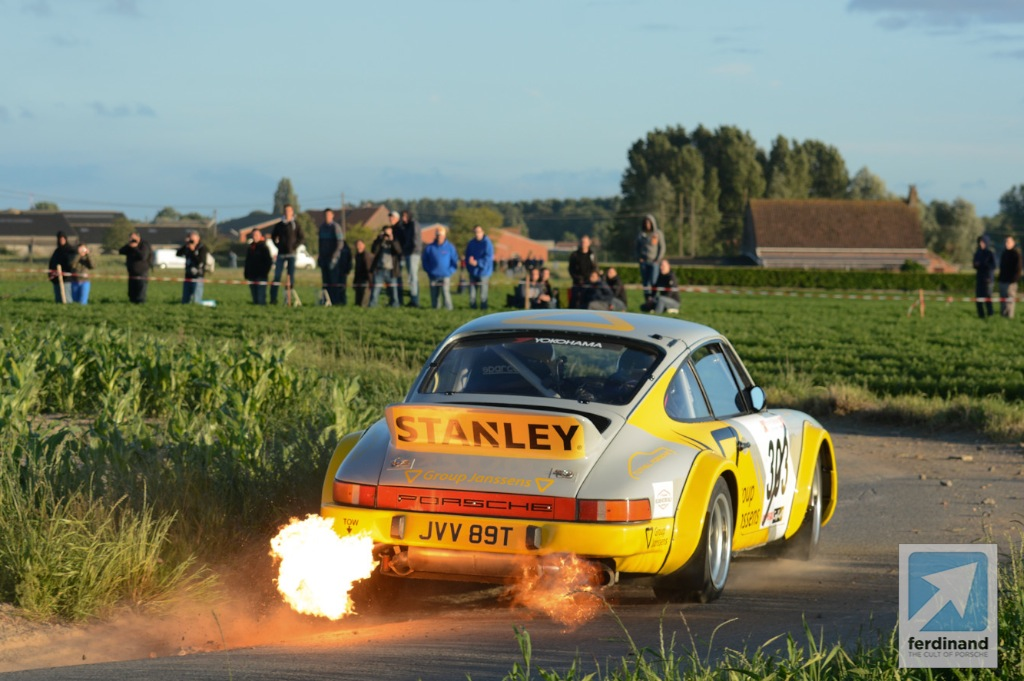 Fired-up Tuthill Porsche wins Ypres Historic Rally - Ferdinand