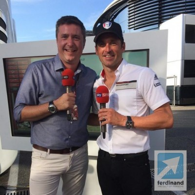 David Croft Patrick Dempsey Hockenheim