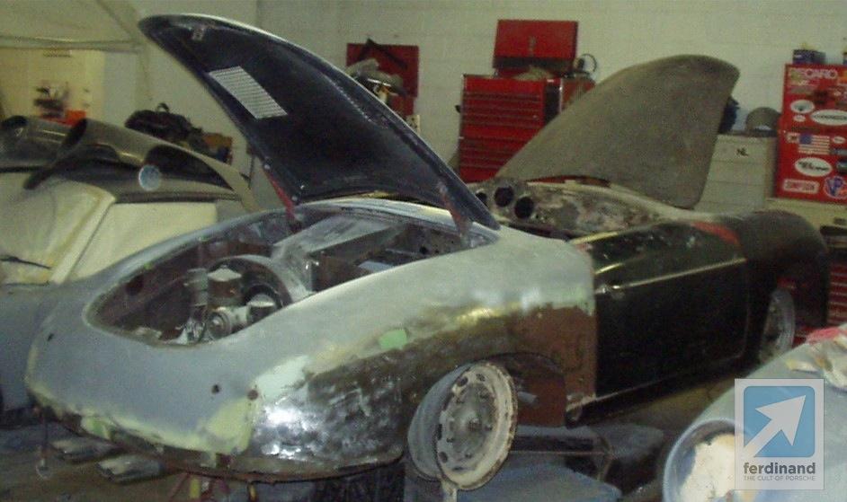 Outlaw Porsche 356 Lewis Hauser Sportolet
