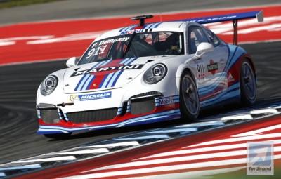 Patrick Dempsey Porsche Supercup