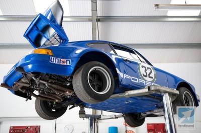 Porsche 911 RSR racing car