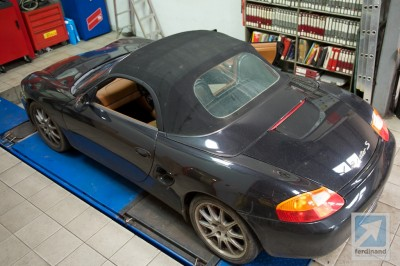 Porsche Boxster Roof problem leaking