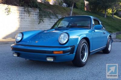 Ferdinand Porsche 911 Minerva Blue