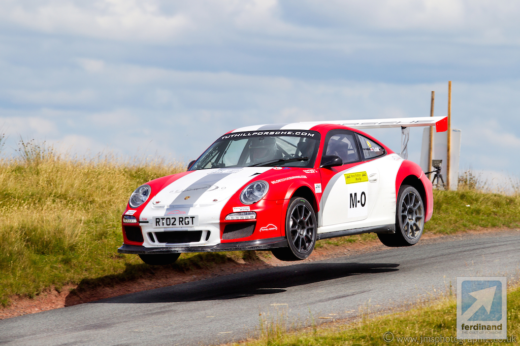 Tuthill Porsche 911 Rally Car Debut FIA WRC - Ferdinand