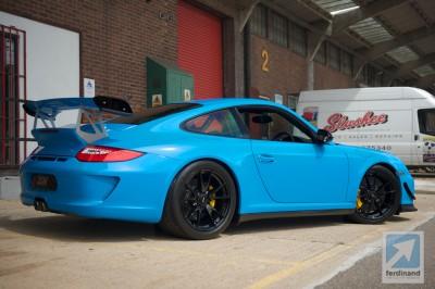 Porsche 997 GT3 RS 4.0 Mexico Blue