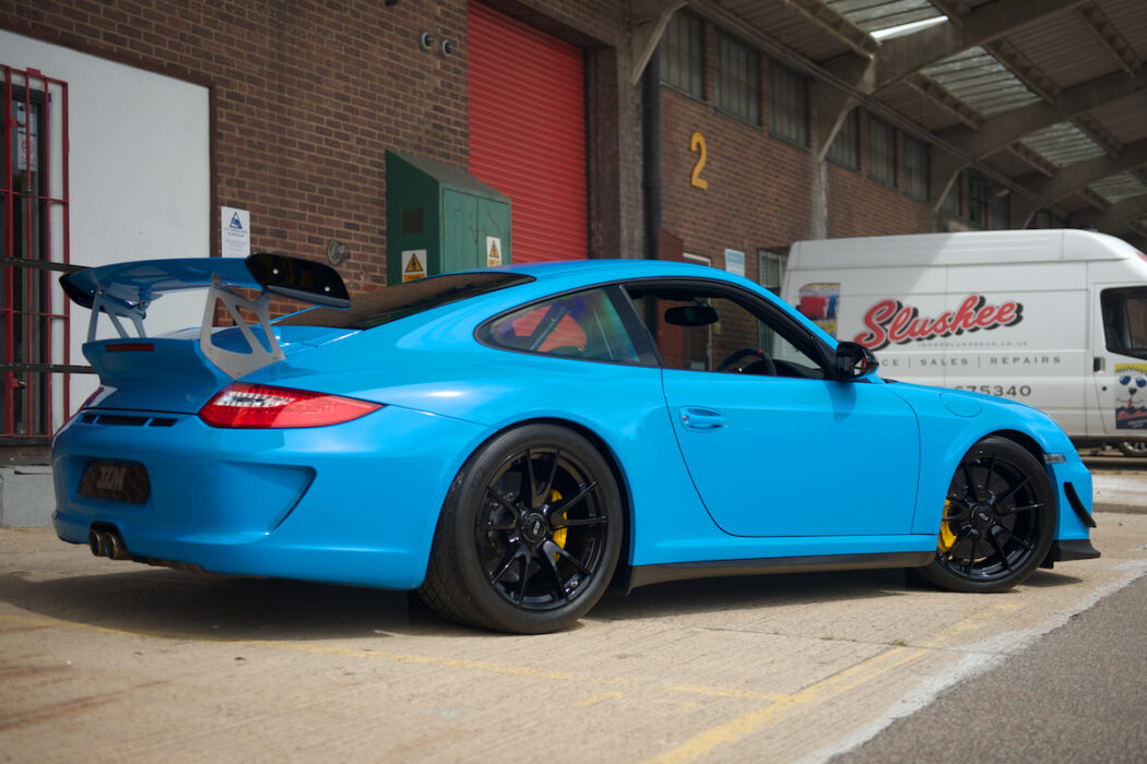 Porsche JZM Sales 997 GT3 RS 4.0 Mexico Blue