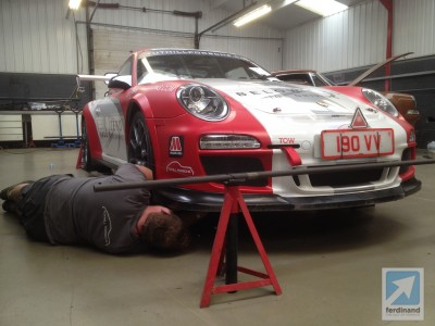 Tuthill Porsche 911 FIA WRC Germany 997 RGT