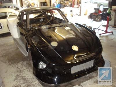 DSD Motorwerks Porsche 935 K3 build