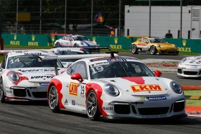 Earl Bamber Porsche works driver 5