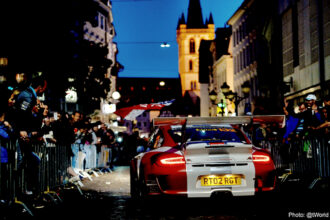 Tuthill Porsche 997 RGT WRC Rally Car Delecour j (1)
