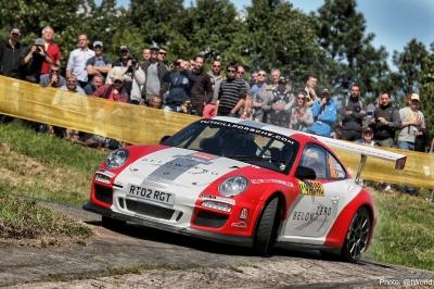 Tuthill Porsche 997 RGT WRC Rally Car Delecour j (2)