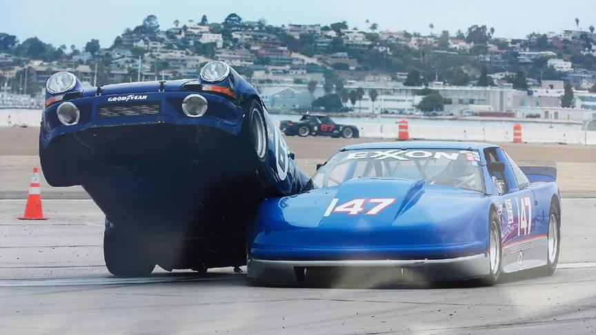 Porsche 911 RSR Penske 1973 crash (1)