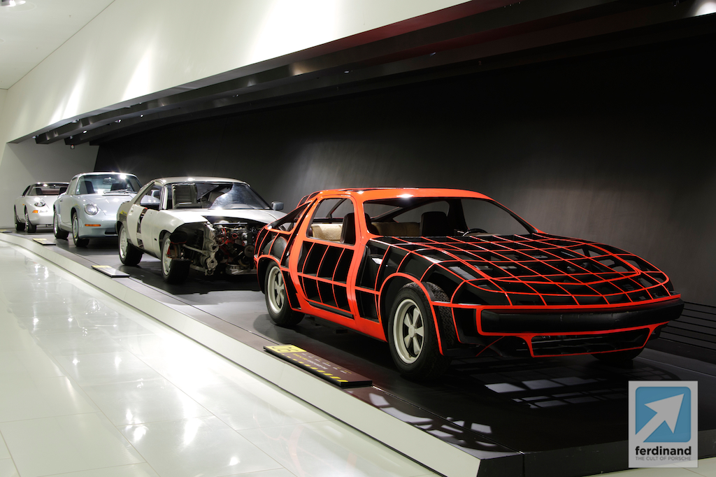 Porsche Museum Top Secret Prototype Exhibition