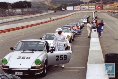Porsche 911 Derek Bell Laguna Seca 2