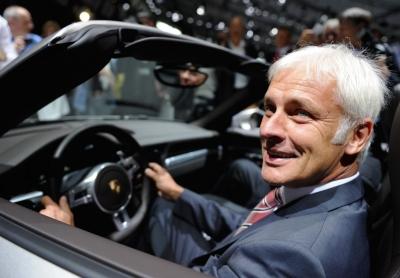 Porsche Matthias Muller