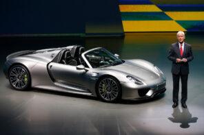 Porsche Matthias Muller 918