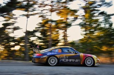 Porsche Monte Carlo Rally Tuthill Delecour