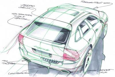 Porsche design Cayenne Steve Murkett