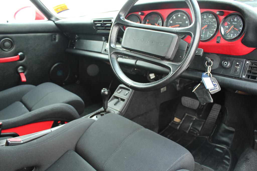 Rare Guards Red Porsche 964 Speedster Tiptronic Ferdinand
