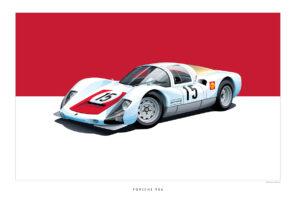 Classic Porsche Art Arthur Schening Ferdinand Magazine 1