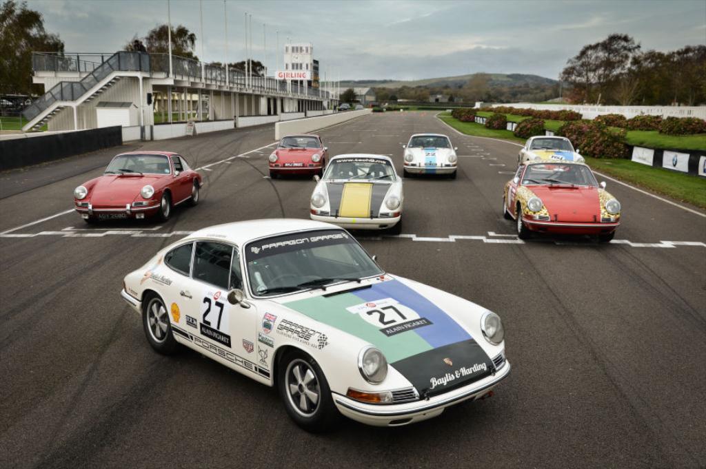 Porsche 911 1965 racing Goodwood Aldington