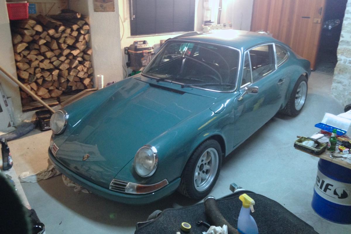 St 233 Phane S Porsche 911 Sc Backdate In France Ferdinand