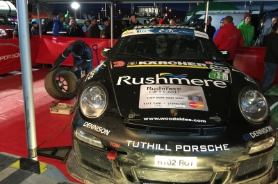 Tuthill Porsche 911 Circuit of Ireland Rally 1