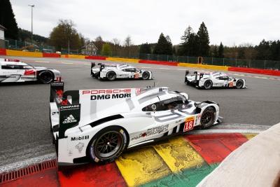 Ferdinand Magazine Porsche 919 LMP1 racing Spa WEC 2015-2