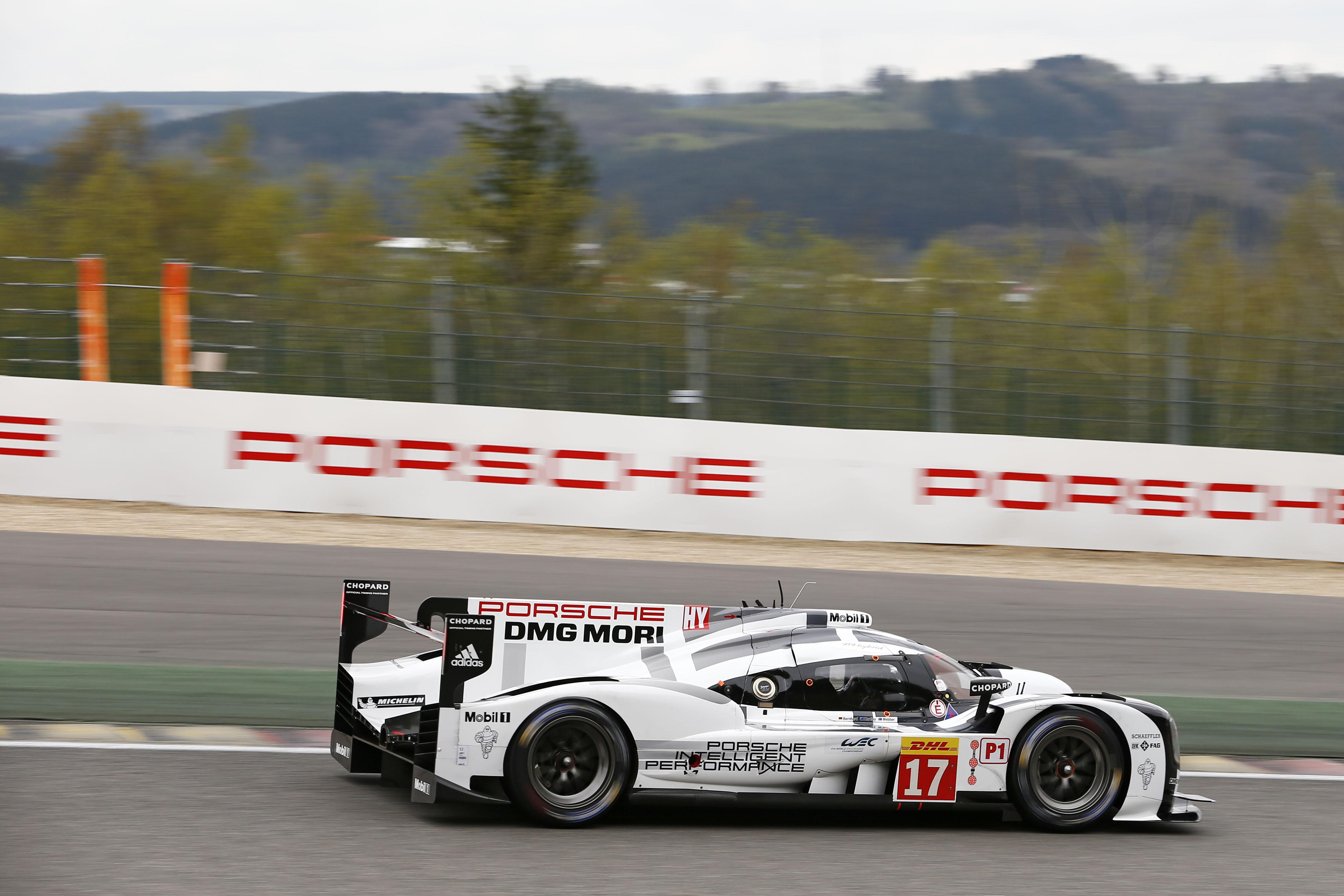 Porsche 919 LMP1-2-3 at Spa Francorchamps - Ferdinand