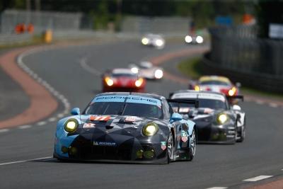 2015 Porsche 911 Le Mans Dempsey Long Seefried
