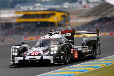 Porsche 919 LMP1 Hybrid Le Mans 2015 10