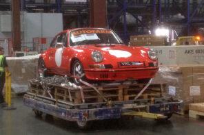 Autofarm Porsche 911 ST air freight