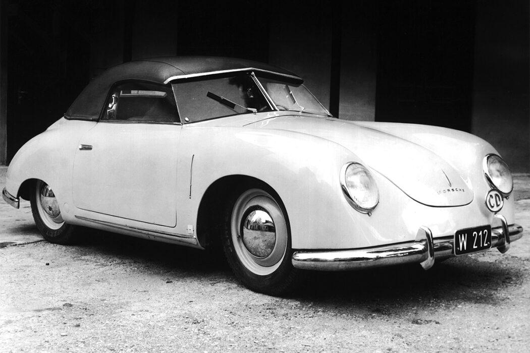 Porsche 356 Keibl Convertible 1949