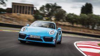Porsche 911 Turbo S Launch 1