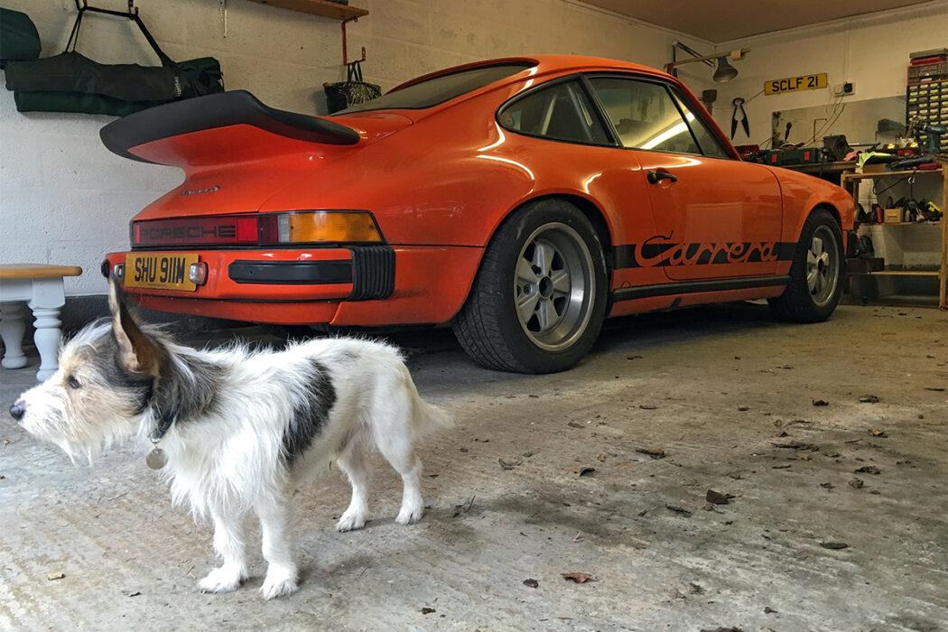 Porsche 911 Carrera 3.0 Orange