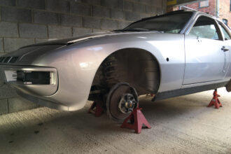 Porsche 924 Turbo restoration 1