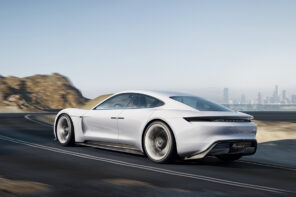 Porsche Mission E Concept Production