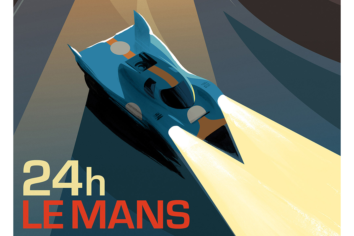 New Porsche 917 Le Mans Print From Guy Allen Ferdinand