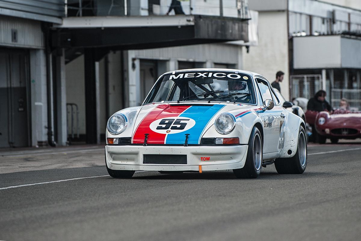 Testing With An Original Brumos Porsche 911 Rsr Ferdinand
