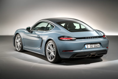 Porsche 718 Cayman Grey 1