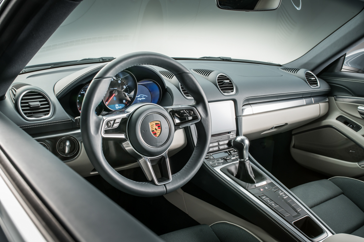 Porsche Launches New 718 Cayman With 4 Cylinder Turbo