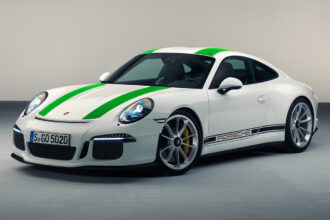 Porsche 911R Green Stripes 1