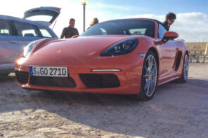 Porsche Boxster 718 launch 2
