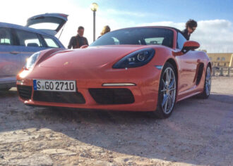 Porsche Boxster 718 launch 2
