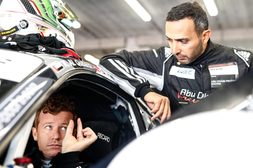 Porsche 911 RSR Spa Patrick Long Khaled Al Qubaisi