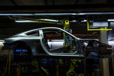 German Porsche production factory 1