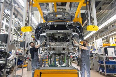 German Porsche production factory 2