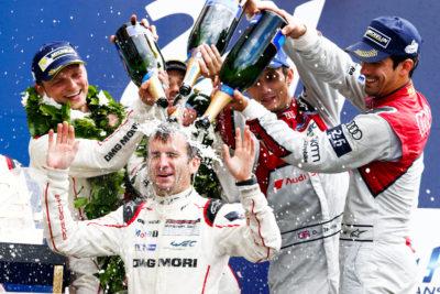 Porsche wins Le Mans 2016 Romain Dumas