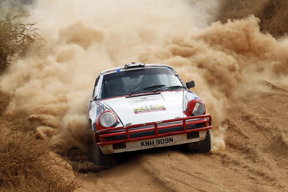 Porsche Driver lost on Morocco Historic Rally - Ferdinand