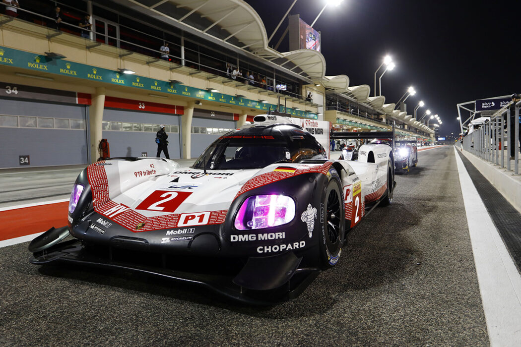 Porsche 919 bows out with Pole Position and a Podium